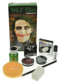 Mehron Evil Joker Villain Makeup Kit