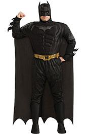 Deluxe Batman Plus Size Men Costume
