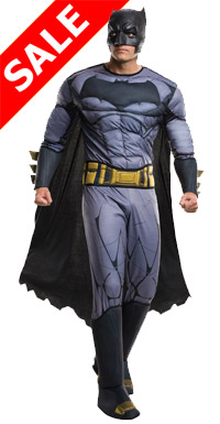 Deluxe Mens Batman vs Superman Costume