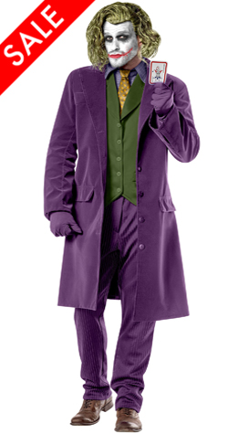 New Dark Knight Joker cosplay