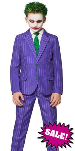 New 2020 Fancy Joker Child Costume