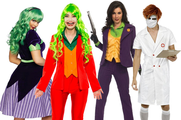 Joker Women Costumes Halloween