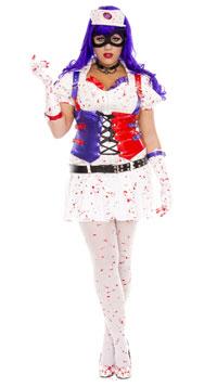 Nurse Harley Costume Arkham Asylum
