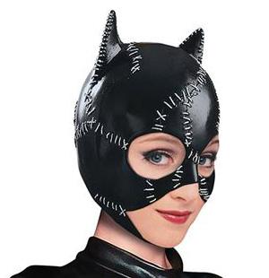 Michelle Pfeiffer's Catwoman Mask Batman Returns Movie