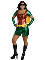 Plus size Female Robin Halloween Woman Costume