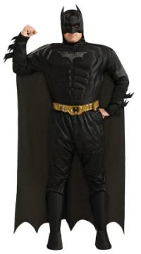 Deluxe Dark Knight Batman Costume for Men
