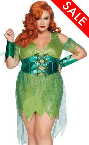 1X 2X 3X 4X Poison Ivy Costume