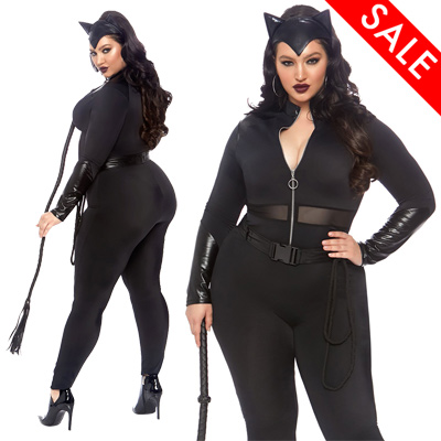 Plus Size Catwoman Costume