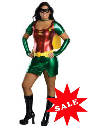 Plus Size Female Robin Halloween Costume