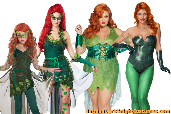 Poison Ivy Costume Ideas for Halloween