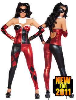 Sexy Harley Quinn Harlequinn Halloween Costume