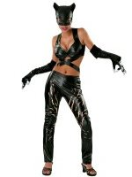 Deluxe Sexy Catwoman Halloween Costume