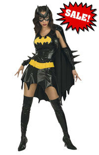 Batgirl Adult Woman Costume Dress
