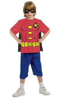 Child T-Shirt Robin Costume Kit