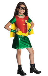 Teen Titans Girls Robin Costume