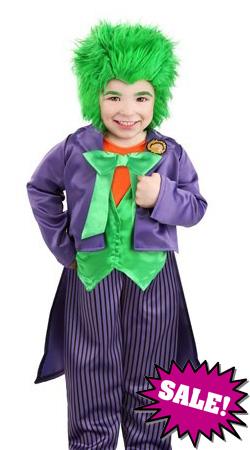 Toddler's Joker Child Costume