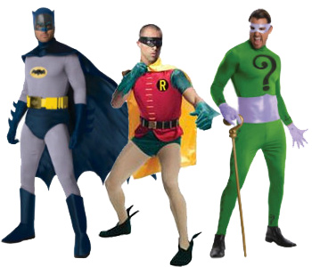 Batman tv show costumes