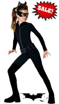 Tween Catwoman Costume - Batman Costumes
