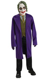 Halloween Tween Joker Costume