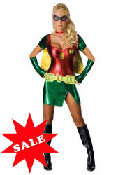 Sexy Robin Halloween Costume for Women